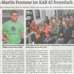 IKZ 21. September Martin Fromme